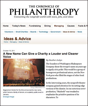 A New Name Can Give a Charity a Louder and Clearer Voice