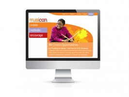 Website Promotes Nonprofit Music Program